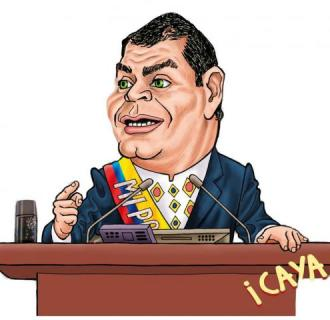 Correa caricatura