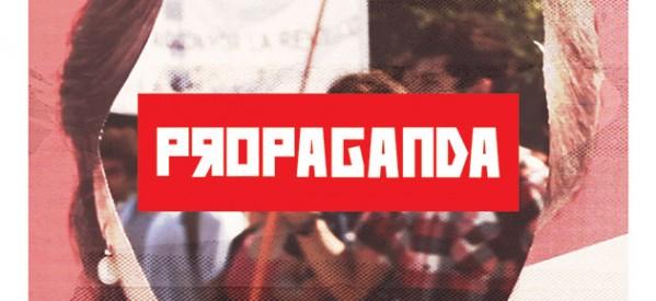 "Afiche de la película chilena ""propaganda""."